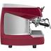 Кофемашина NUOVA SIMONELLI Aurelia II Vol 2 gr perl red+high gr+LED lights фото сбоку