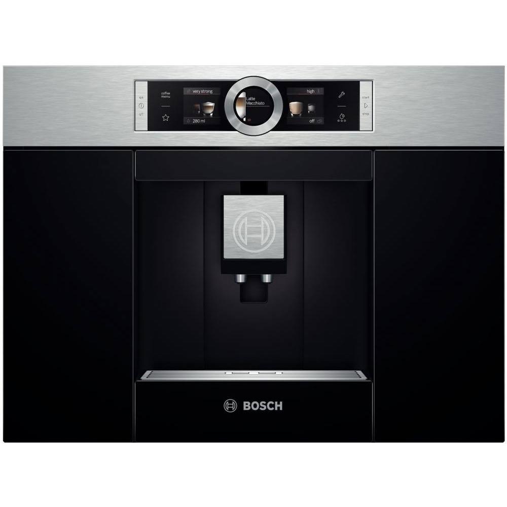 Фотография кофемашины Bosch CTL636ES1. Вид спереди