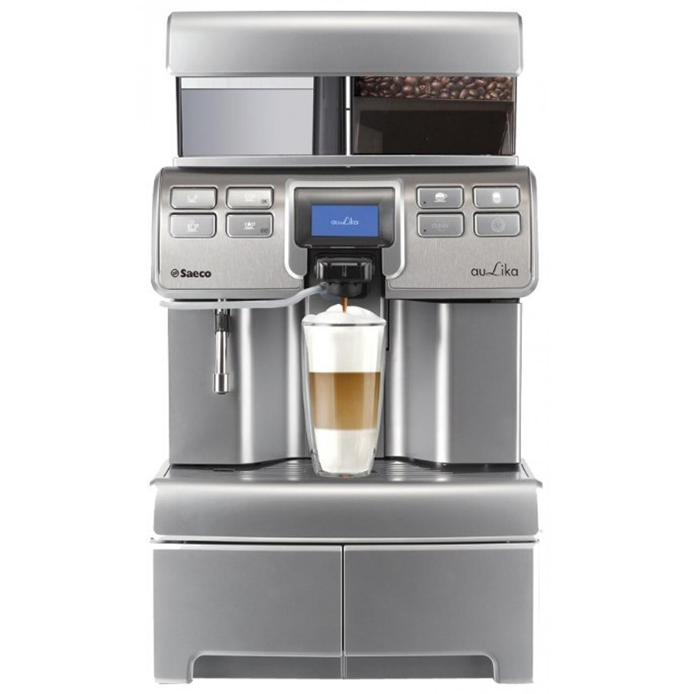 Saeco Aulika Top High Speed Cappuccino фото вид спереди
