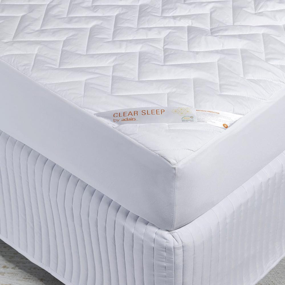 Adairs Clear Sleep Quilted Waterproof Mattress Protector