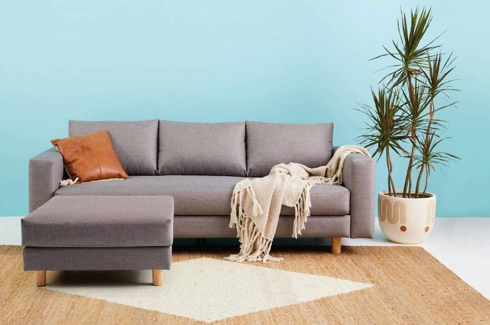 The Koala Sofa in Grey
