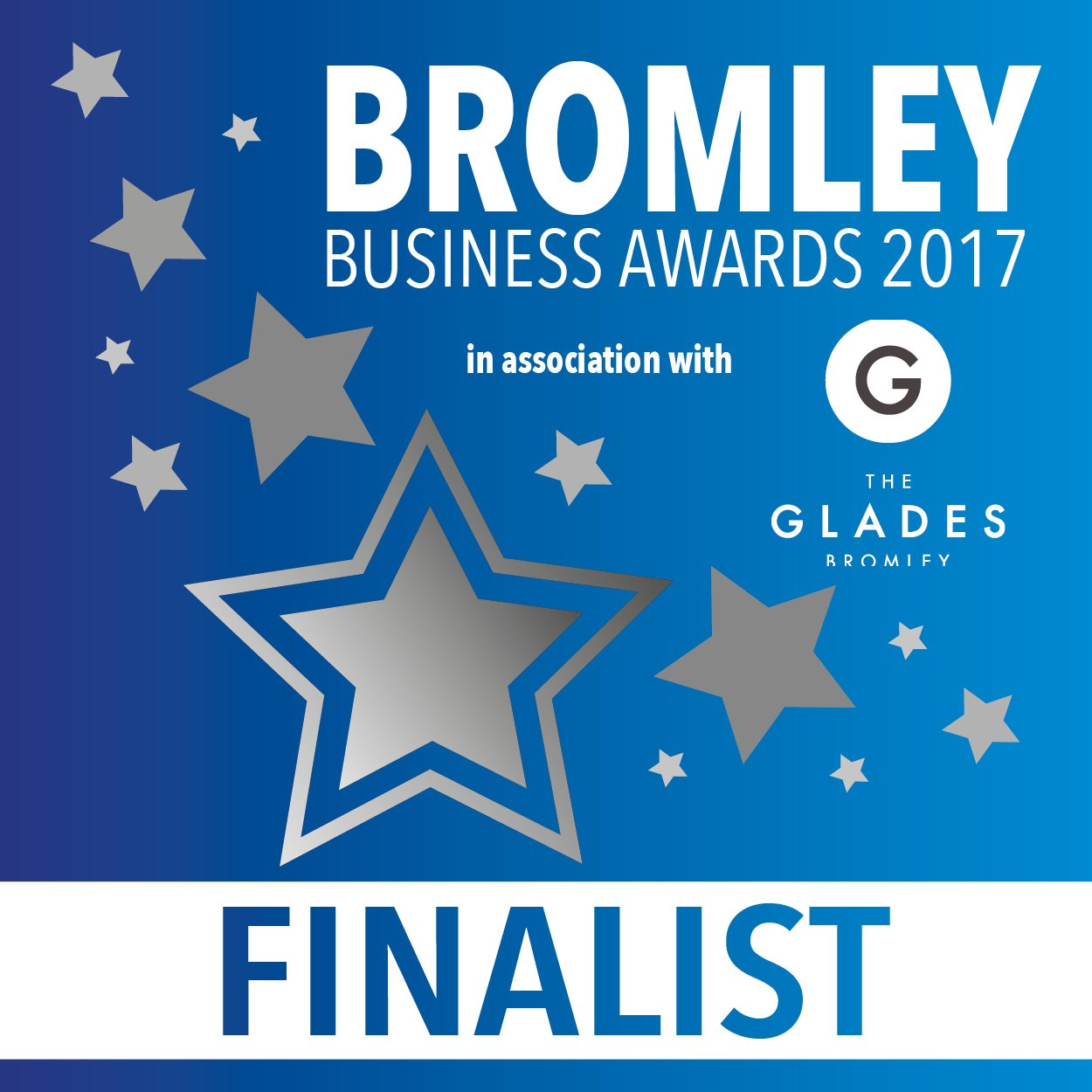 Highly Commended - Best Business for Innovation & Growth (Bromley Business Awards, 2017)