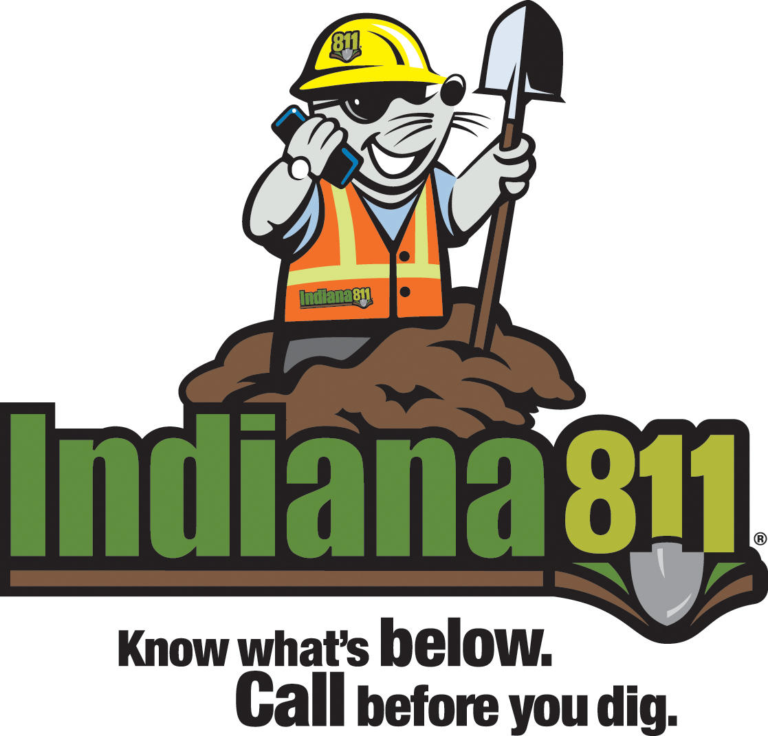 Indiana 811: Call before you dig.