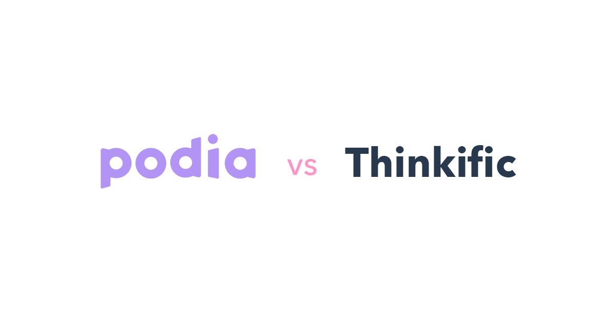 Podia vs Thinkific