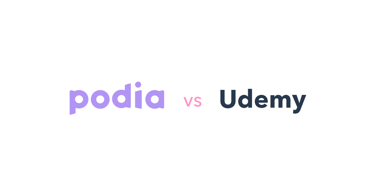 Podia vs Udemy