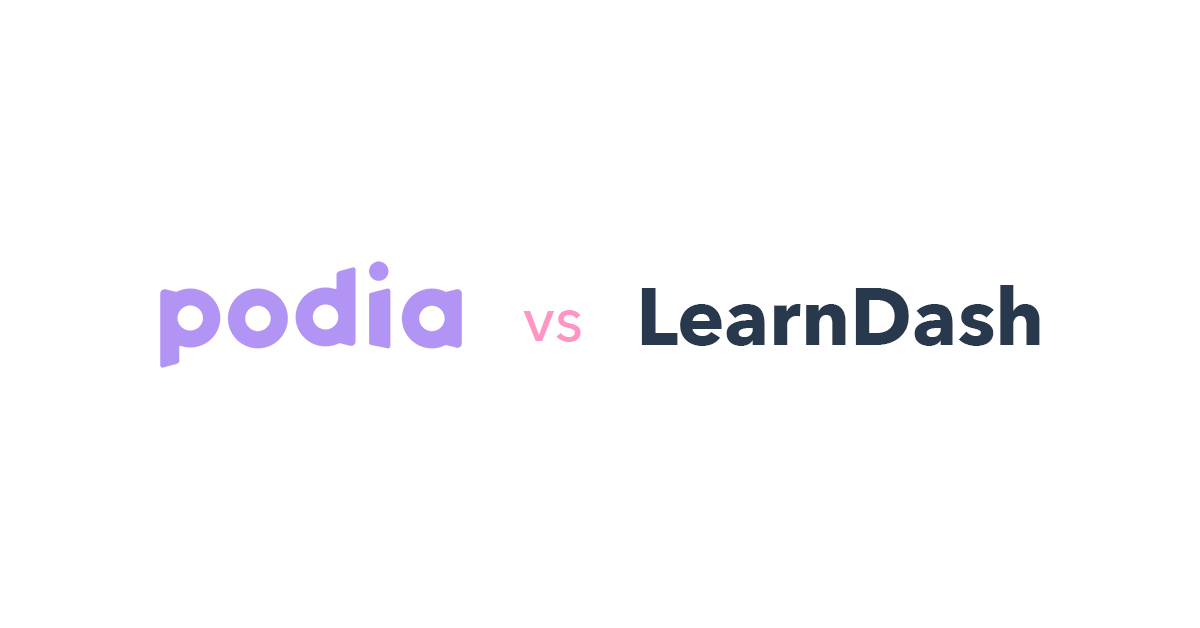 Podia vs LearnDash
