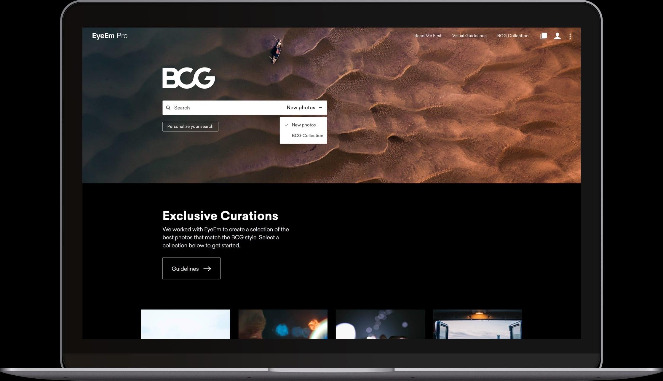 Custom Image Search BCG