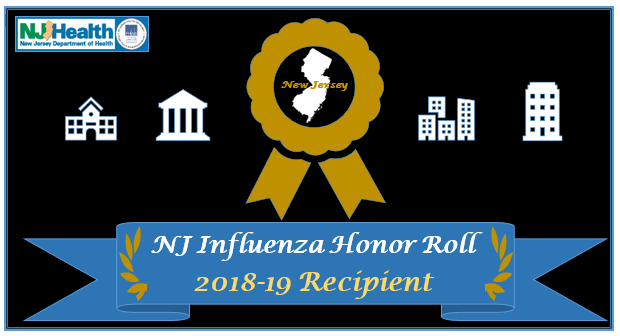 2018-2019 New Jersey Influenza Honor Roll
