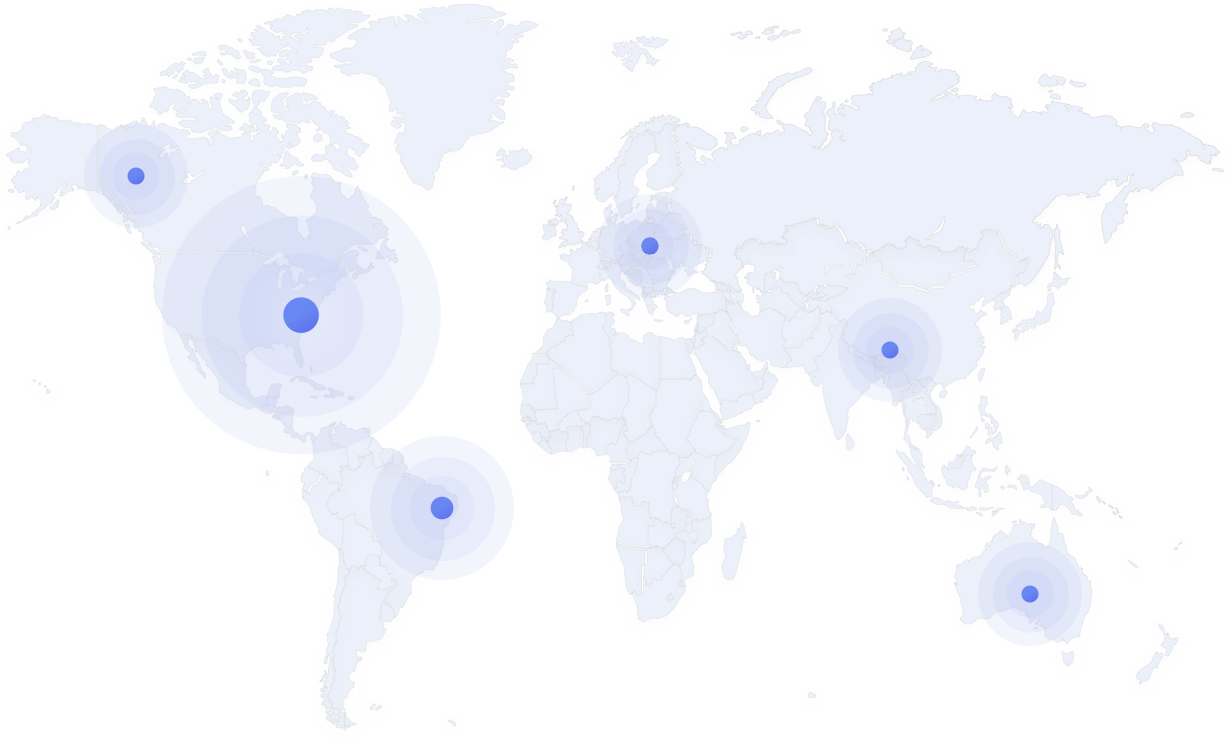 Map of Kisi installers