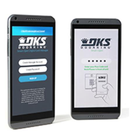 Doorking mobile app