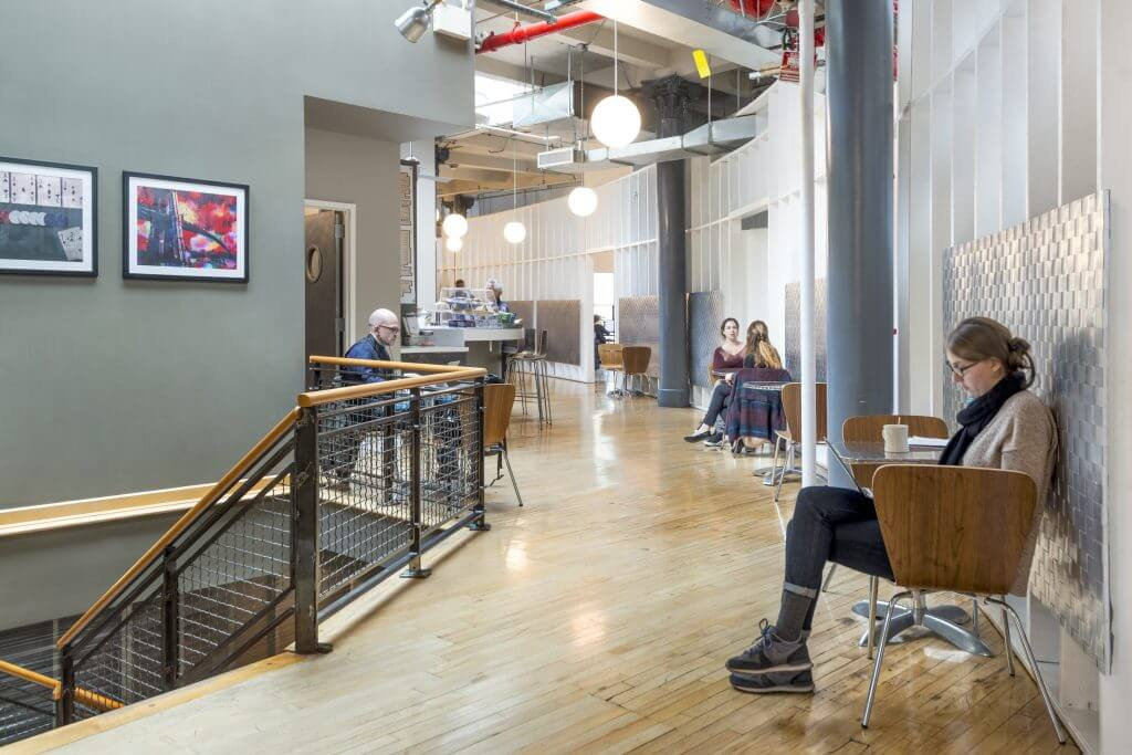 TechSpace NYC Coworking Space Design Inspiration