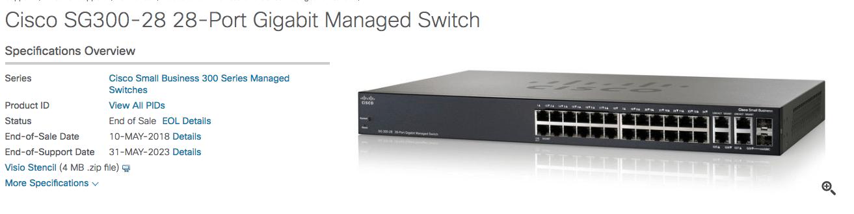 Cisco SG300-28