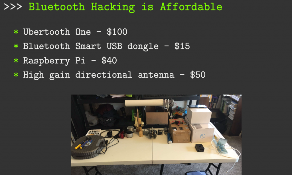 Bluetooth hacking