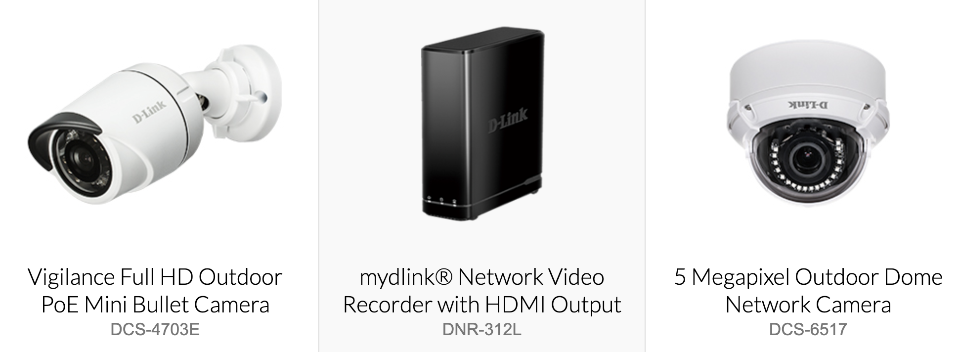 D-Link Products