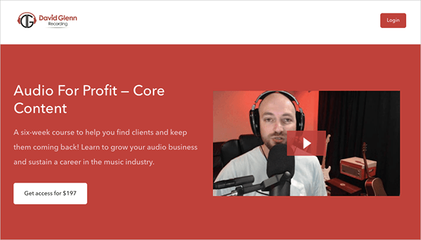 Audio for Profit — Core Content