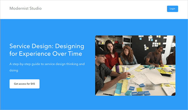 Service Design: Designing for Experience Over Time