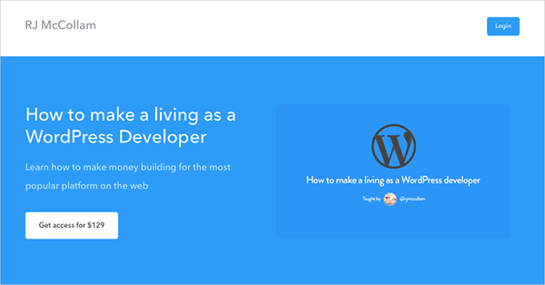 How to make a living as a WordPress Developer