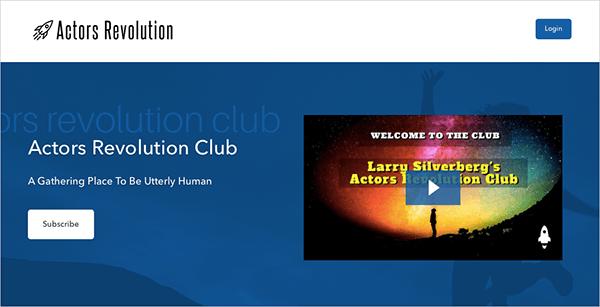 Actor's Revolution Club