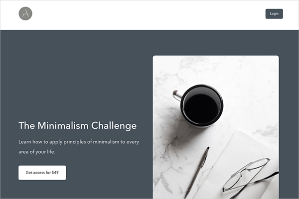 The Minimalism Challenge
