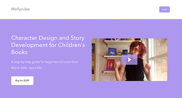 Character Design and Story Development for Children's Books