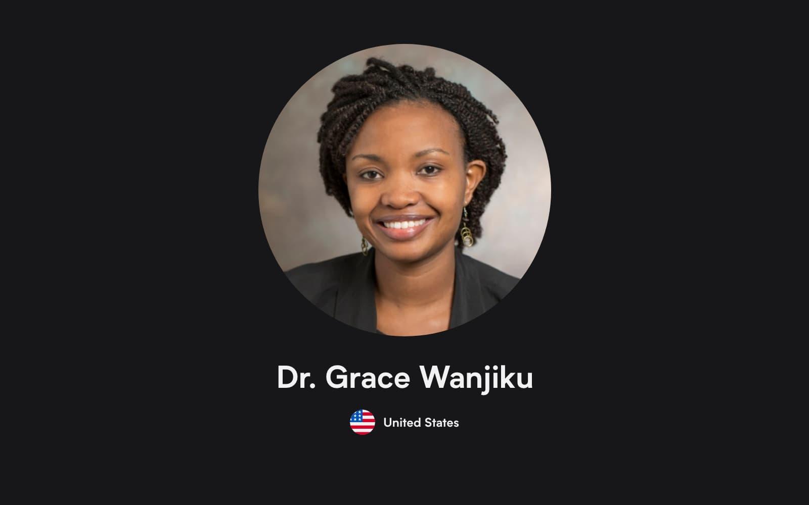 Portrait of Grace Wanjiku