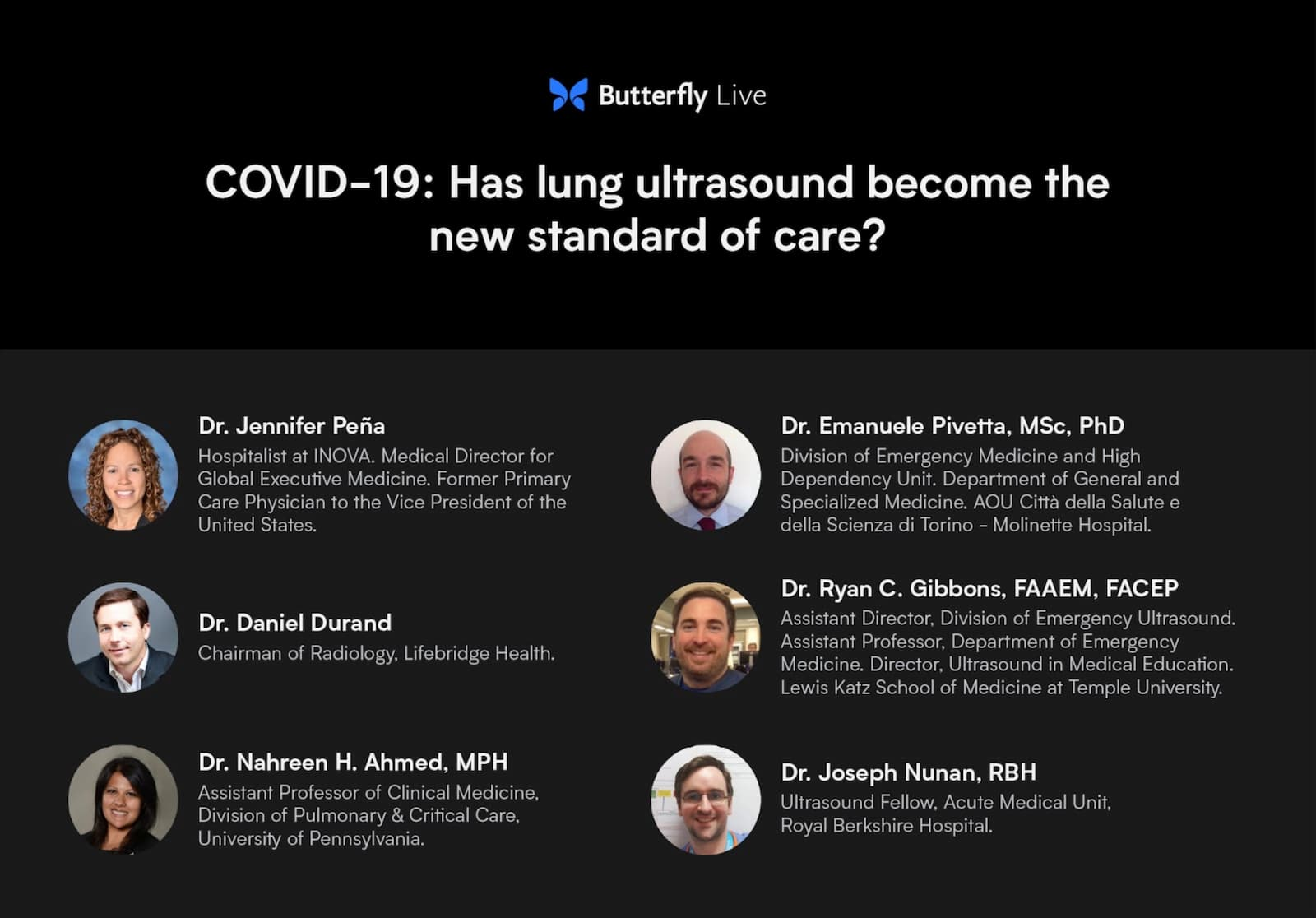 Lung ultrasound for COVID-19: Best practice or now standard of care? It's time to deploy.