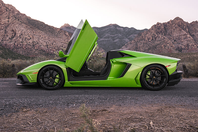 Rent A 2017 Lamborghini Aventador Roadster In Las Vegas