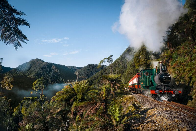 The West Coast Wilderness Railway is being recognised as one of the world's great rail journeys