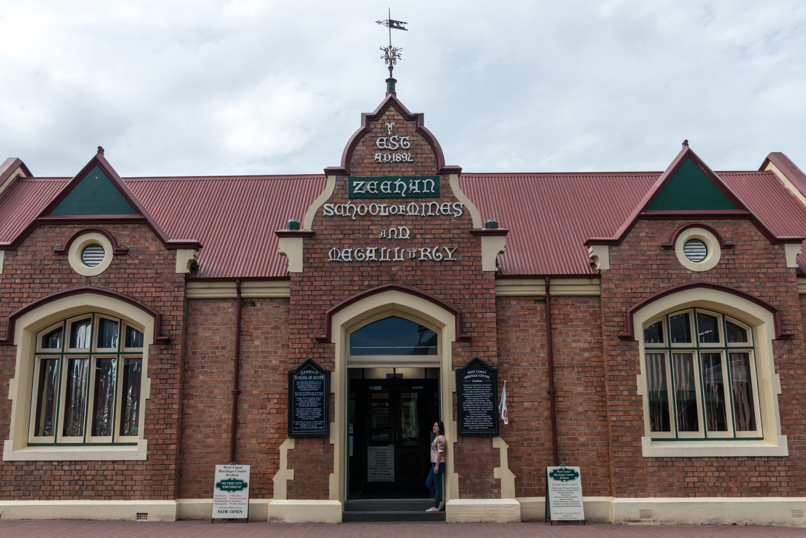 The West Coast Heritage Centre at Zeehan