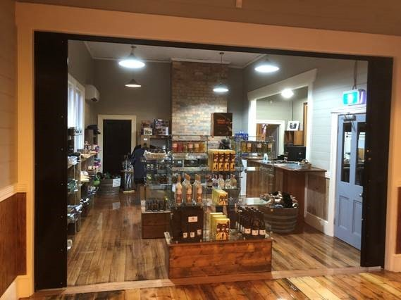 The West Coast Wilderness Railway has opened a new cafe and gift shop at Regatta Point Station in Strahan