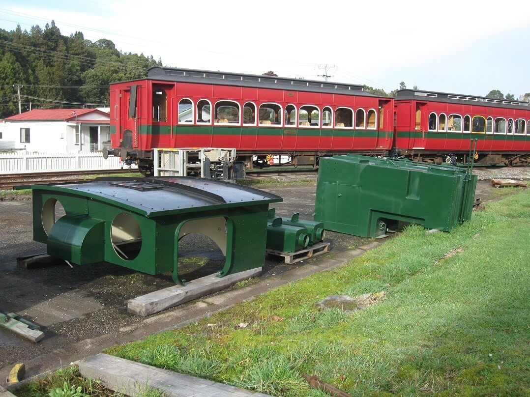 Abt number 1 is repainted during downtime caused by COVID-19