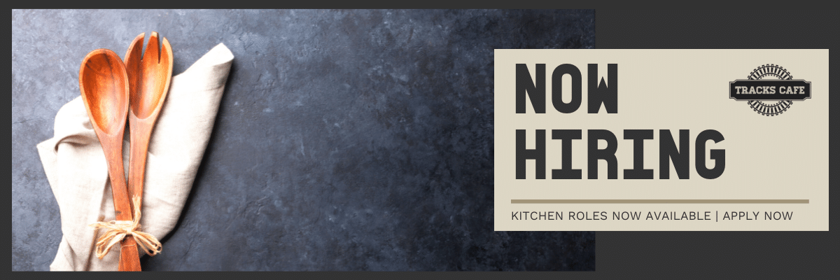 Now hiring kitchen roles apply now