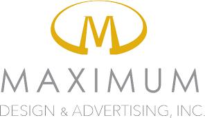 maximum design logo