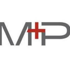 M plus P agency logo