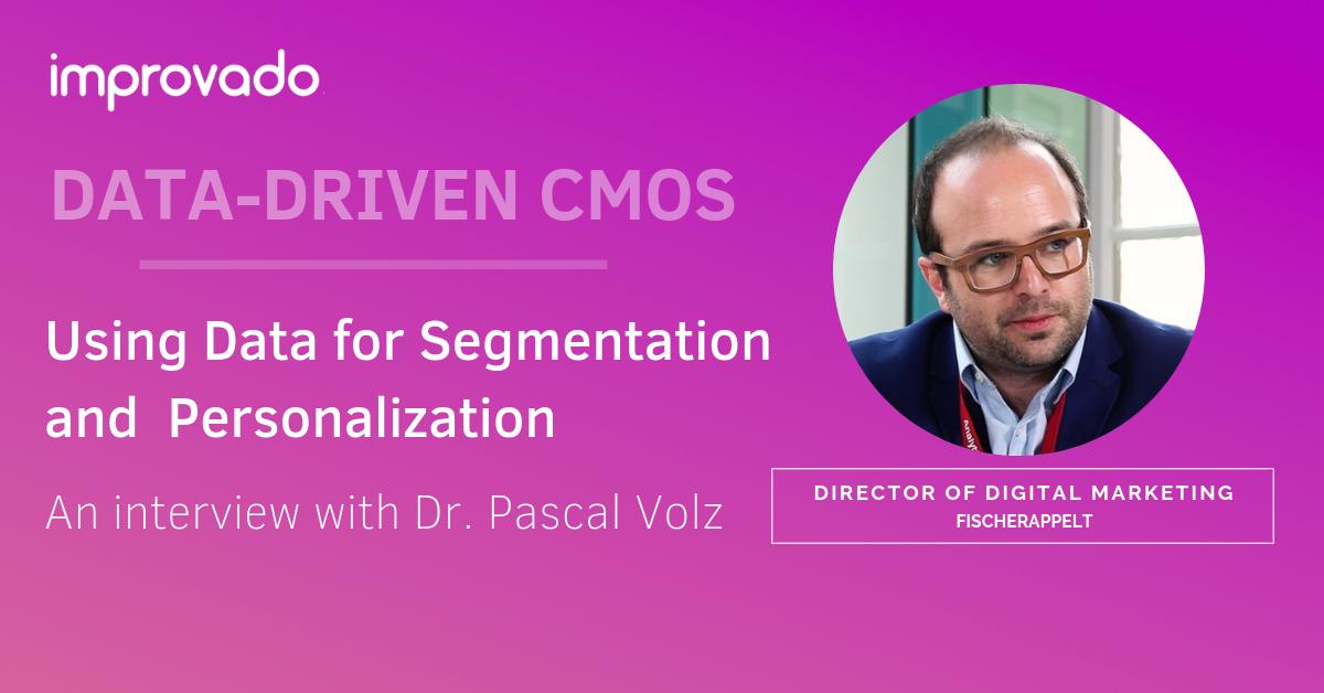 DATA-DRIVEN CMOS: An interview with Dr. Pascal Volz at fischerAppelt