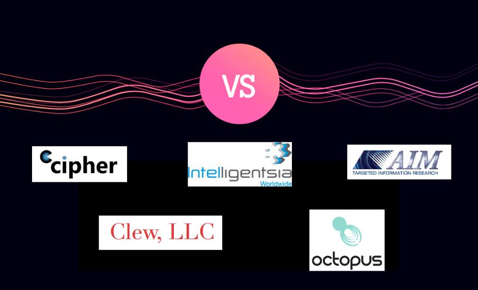 AIM vs Cipher vs Intelligentsia vs Octopus Intelligence vs Clew