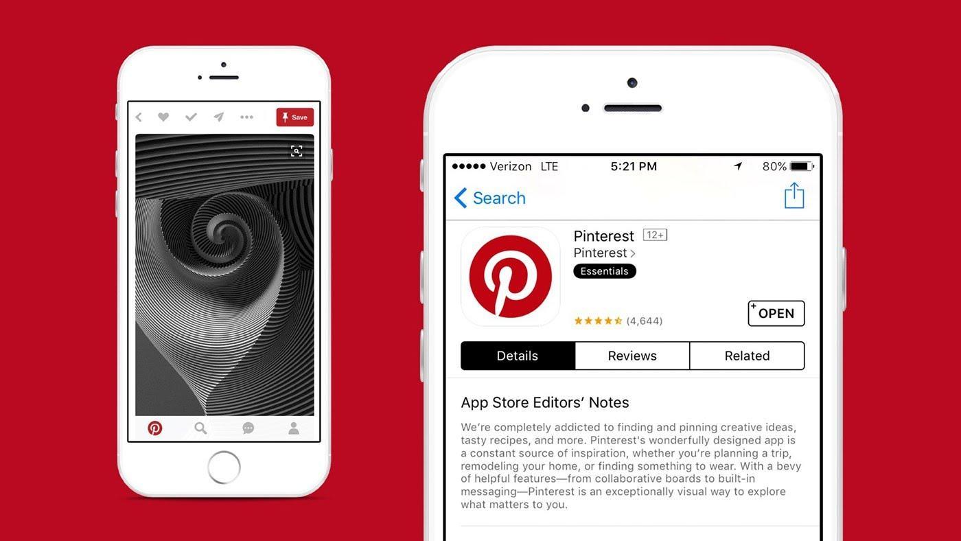 Pinterest Branding, logotype & Visual Identity