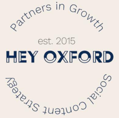 Hey Oxford agency logo
