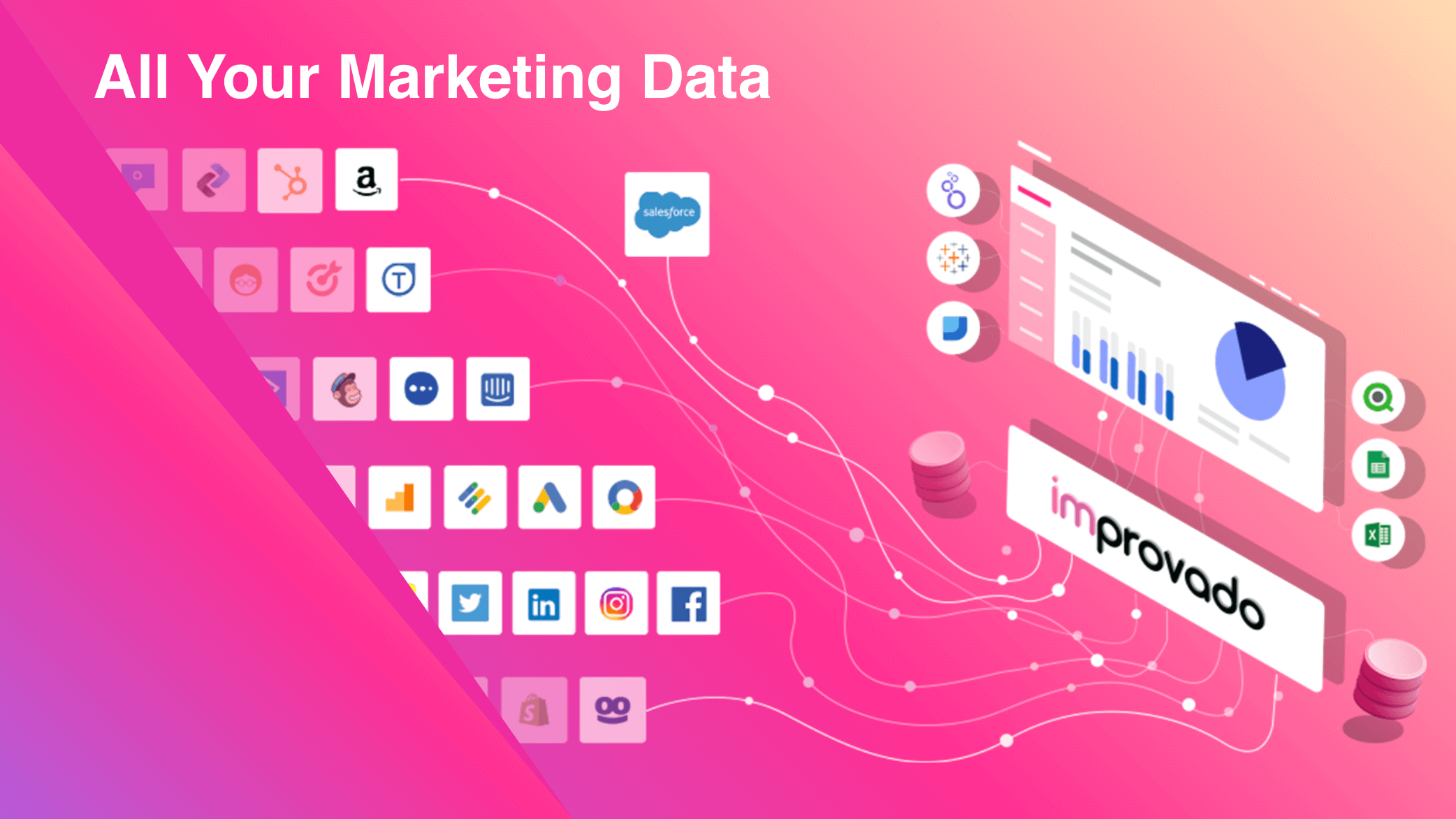 Improvado. All your marketing data in one place