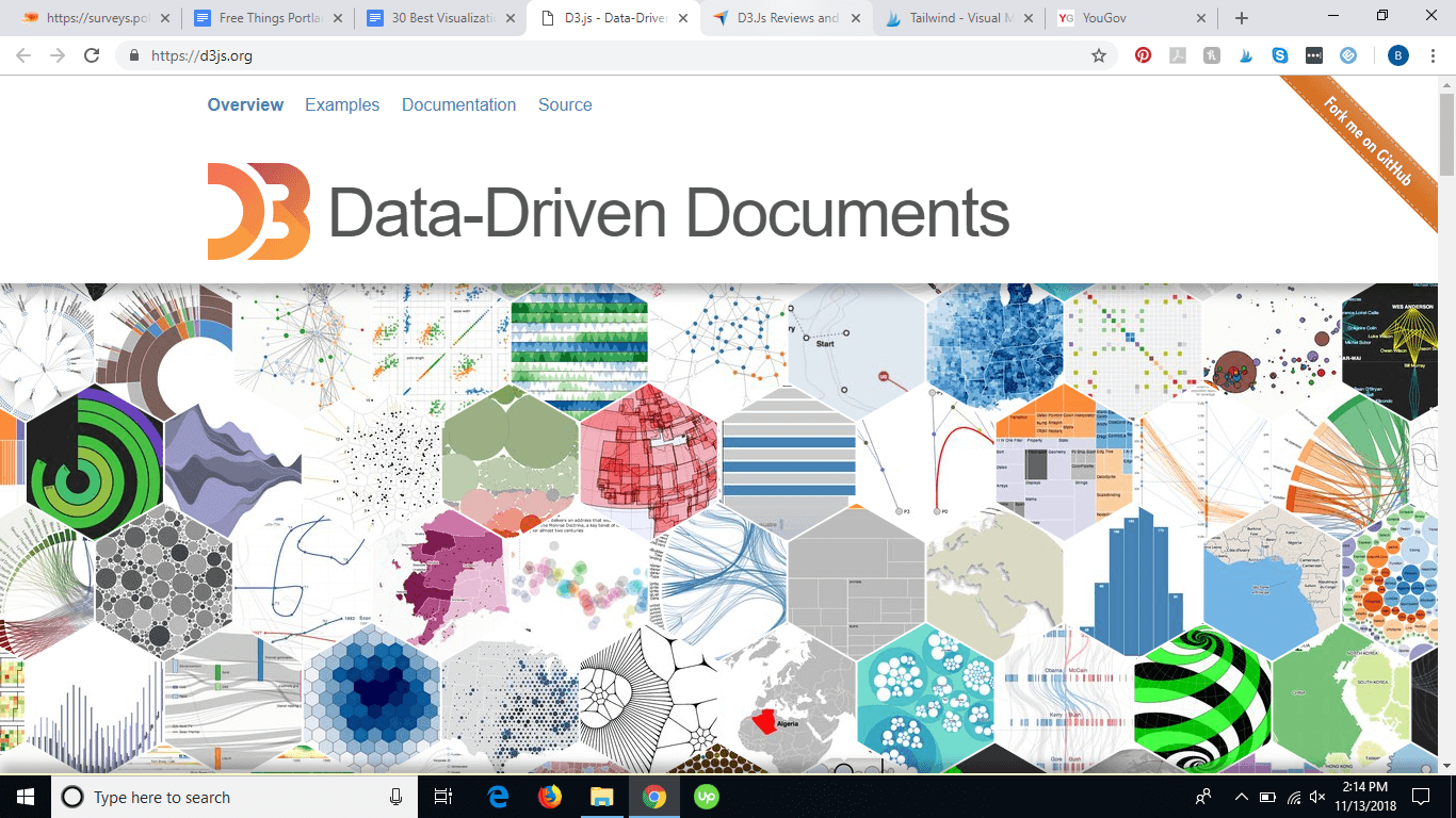 D3js homepage