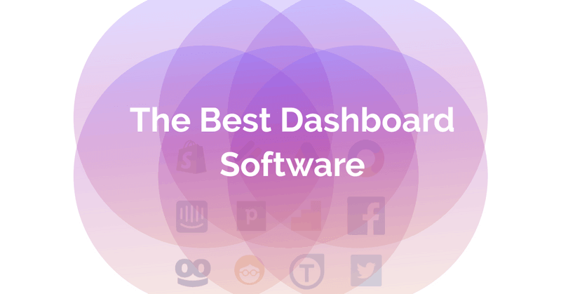 The Best Dashboard Software
