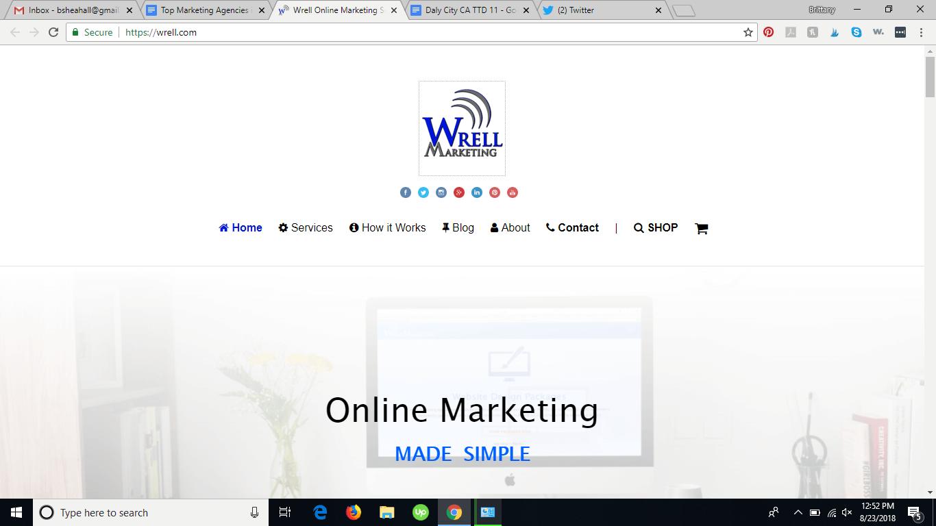 Wrell logo