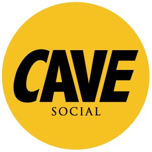 Cave social logo