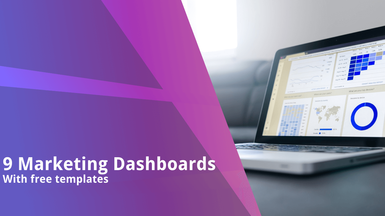 9 Best Marketing Dashboard Examples and Templates [2021]