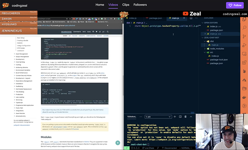 Twitch: Creating ZEAL's first Twitch Chat Bot