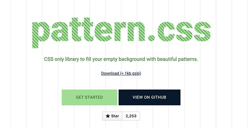 Pattern CSS