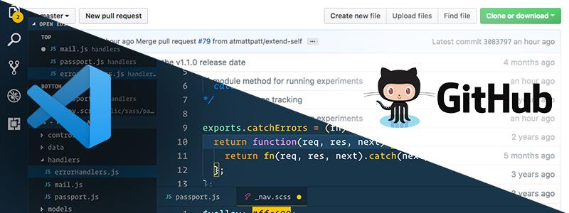 VS Code and GitHub
