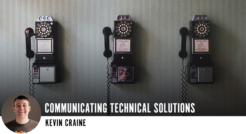 Communicating Technical Solutions
