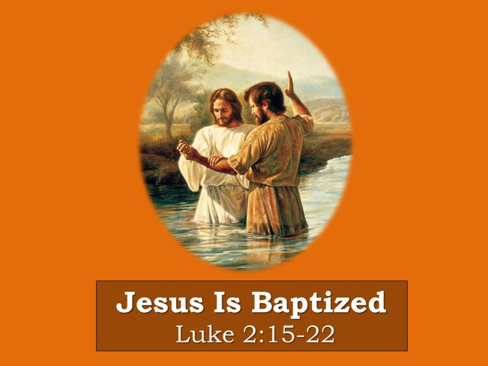 Jesus is Baptized