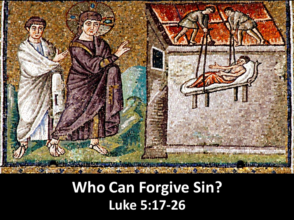 Who Can Forgive Sin?